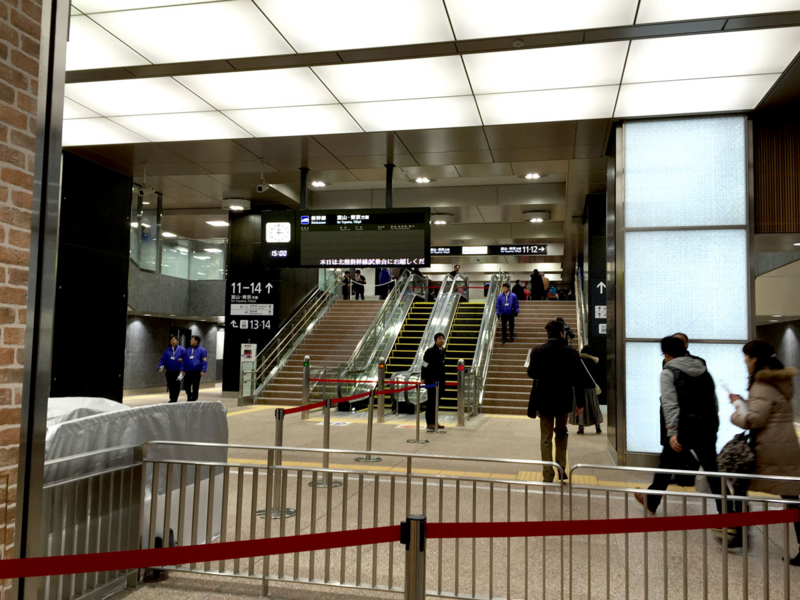 金沢駅の自動改札