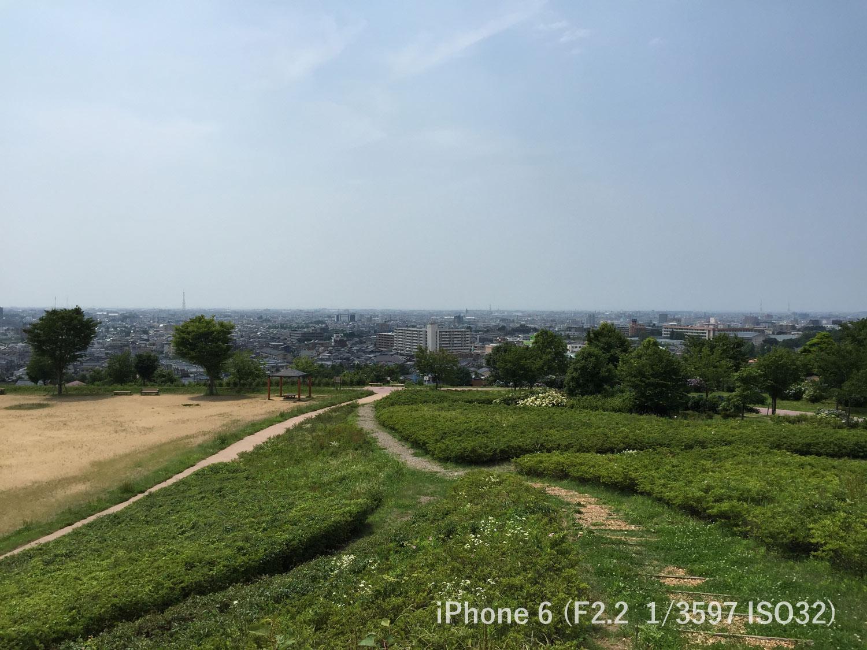 金沢市一望 大乗寺公園 iPhone6