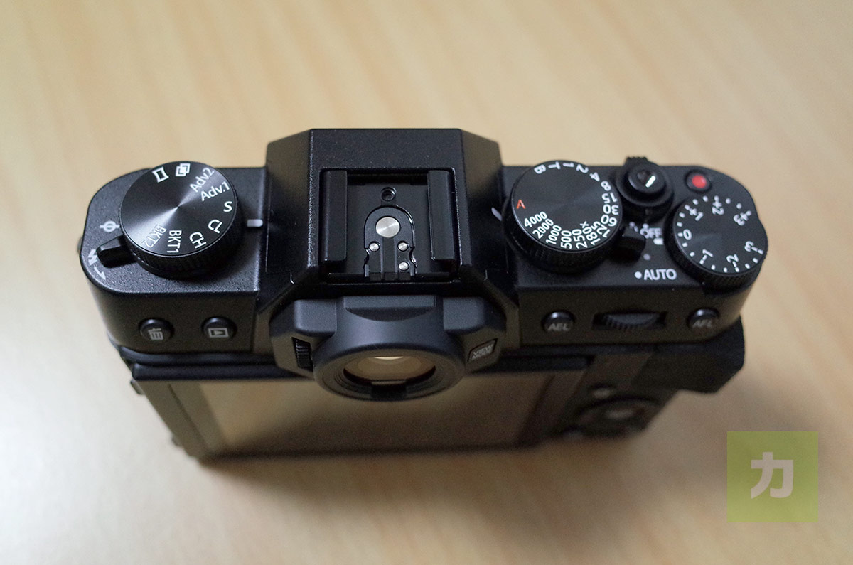 X-T10の操作ダイヤル