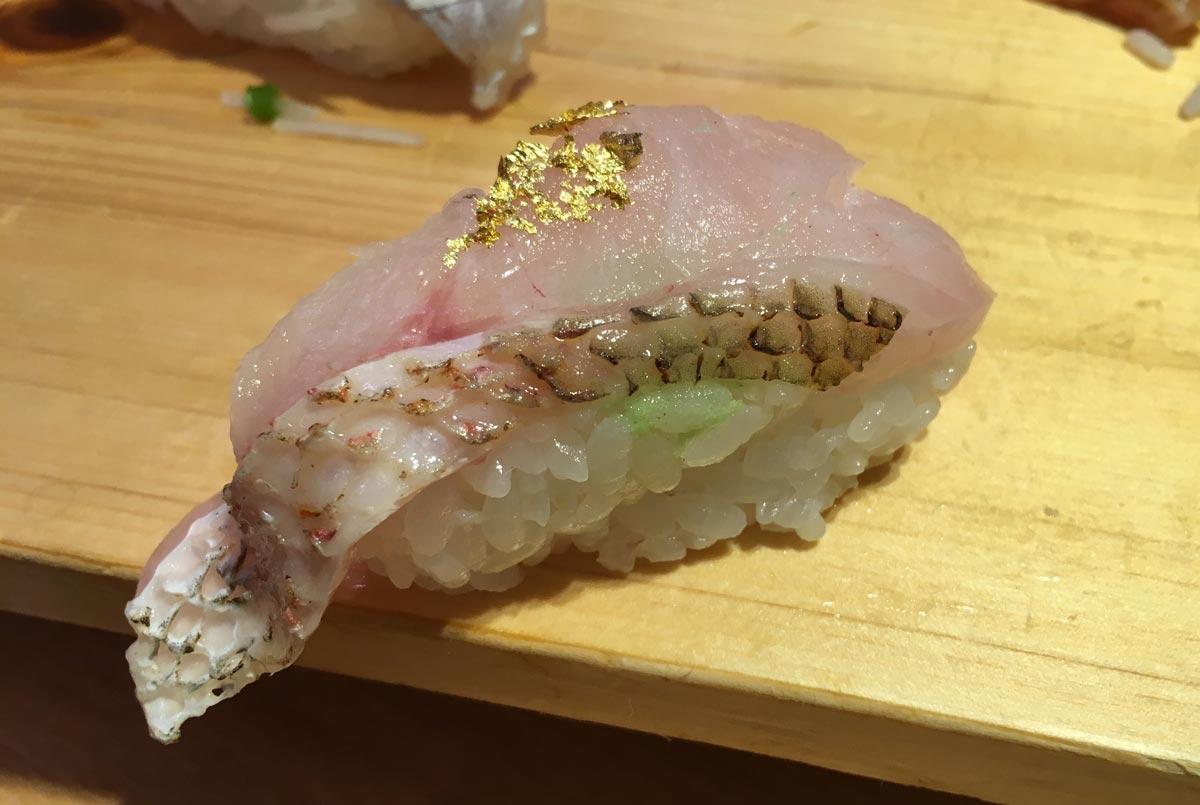 のどぐろの寿司