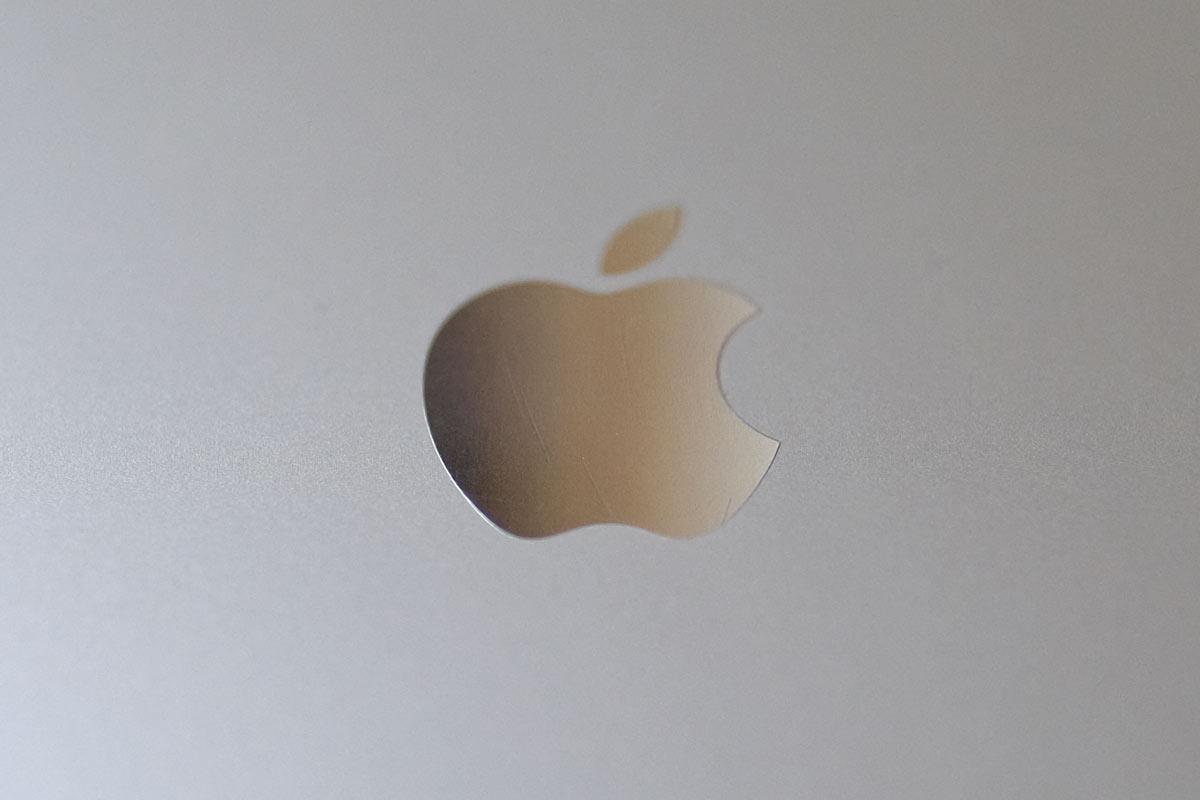 iPhone 5s Appleエンブレム