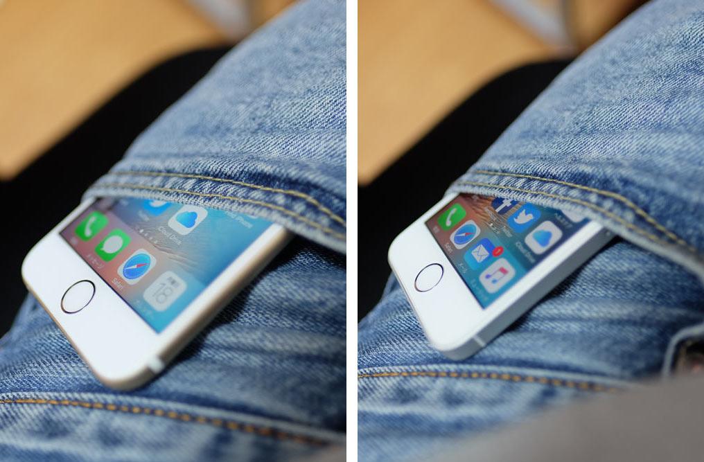 iPhone 6s・iPhone SE 持ちやすさ