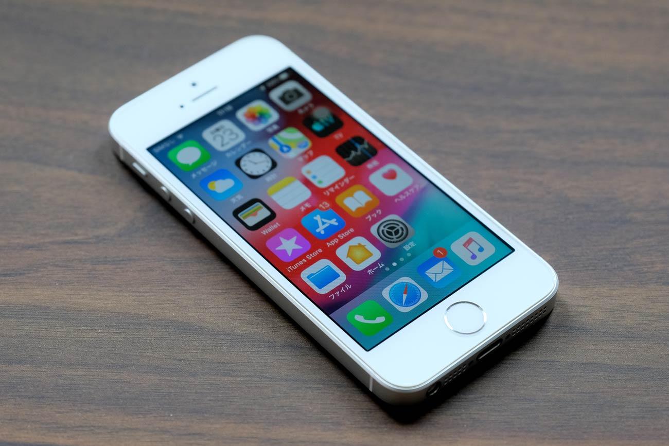 4インチディスプレイのiPhone SE