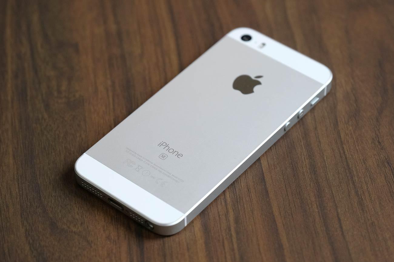 iPhone SE 背面パネル