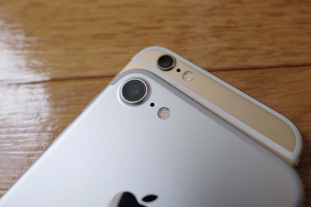 iPhone7 リアカメラ