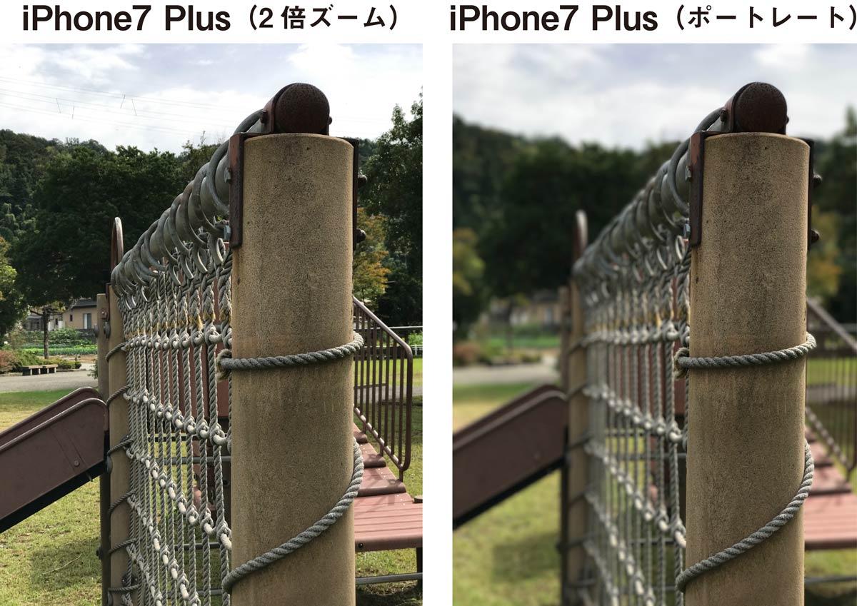 iPhone 7 Plus ポートレートモード3
