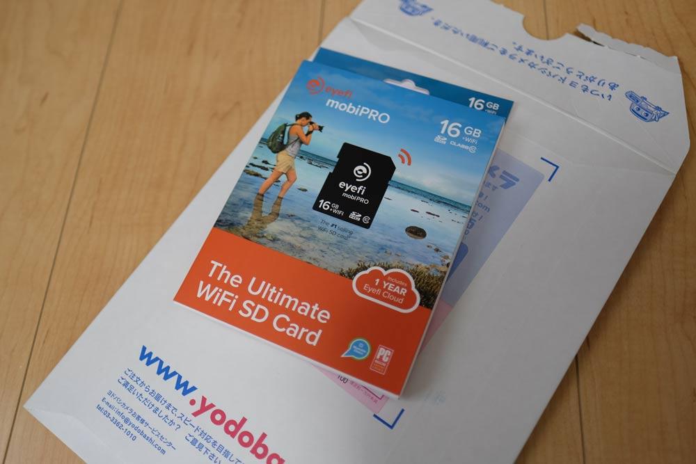 Eye-FiのSDカード