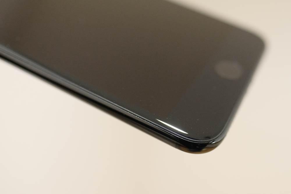 iPhone 7 Plus ディスプレイ側の傷