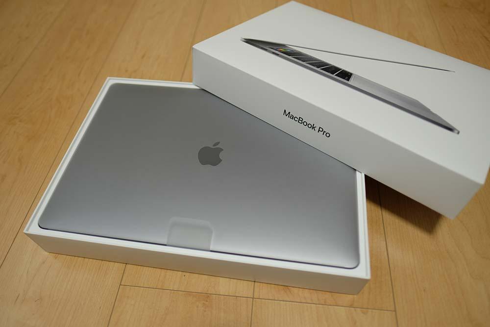 MacBook Pro 15インチ(2016)パッケージ