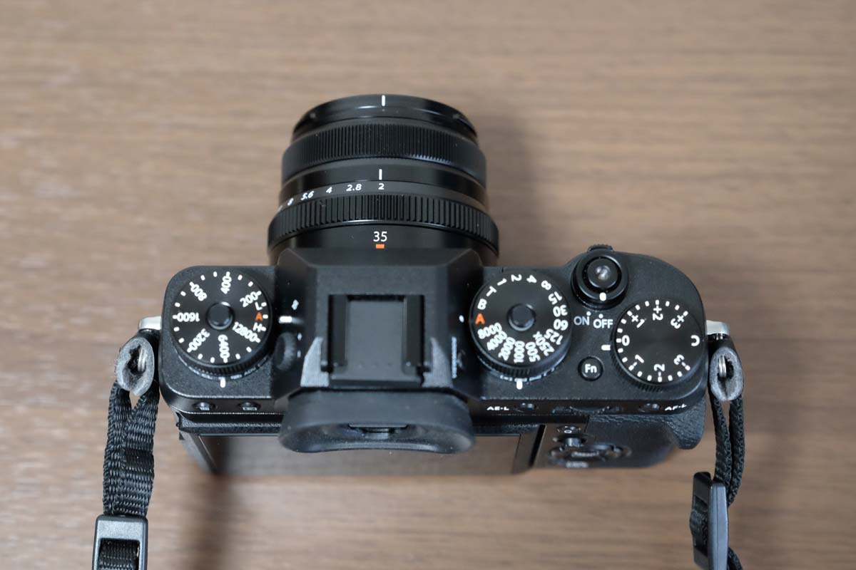 XF35mmF2 R WRとX-T2 3