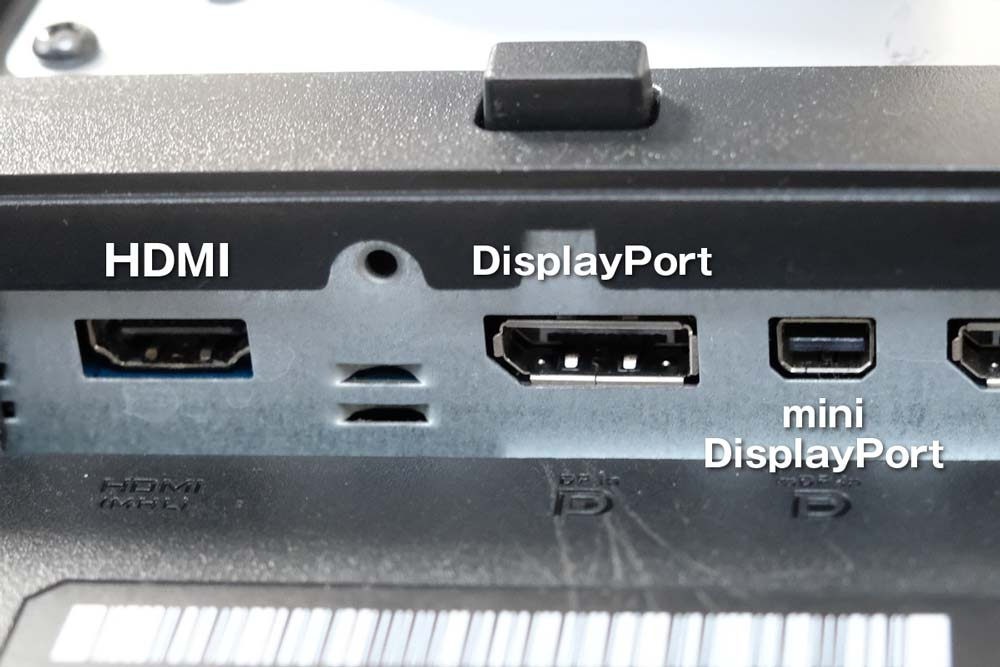 HDMI、Display Port
