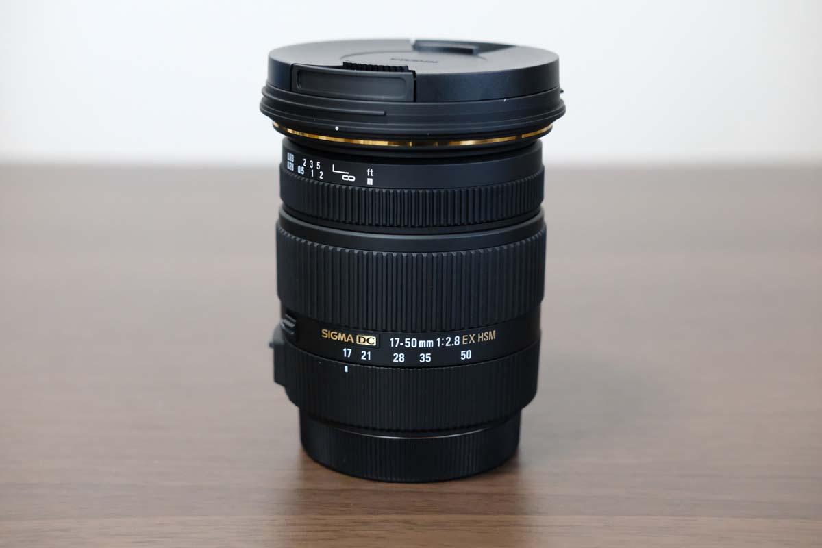 SIGMA 17-50mm F2.8 EX DC OS HSM レンズ本体2