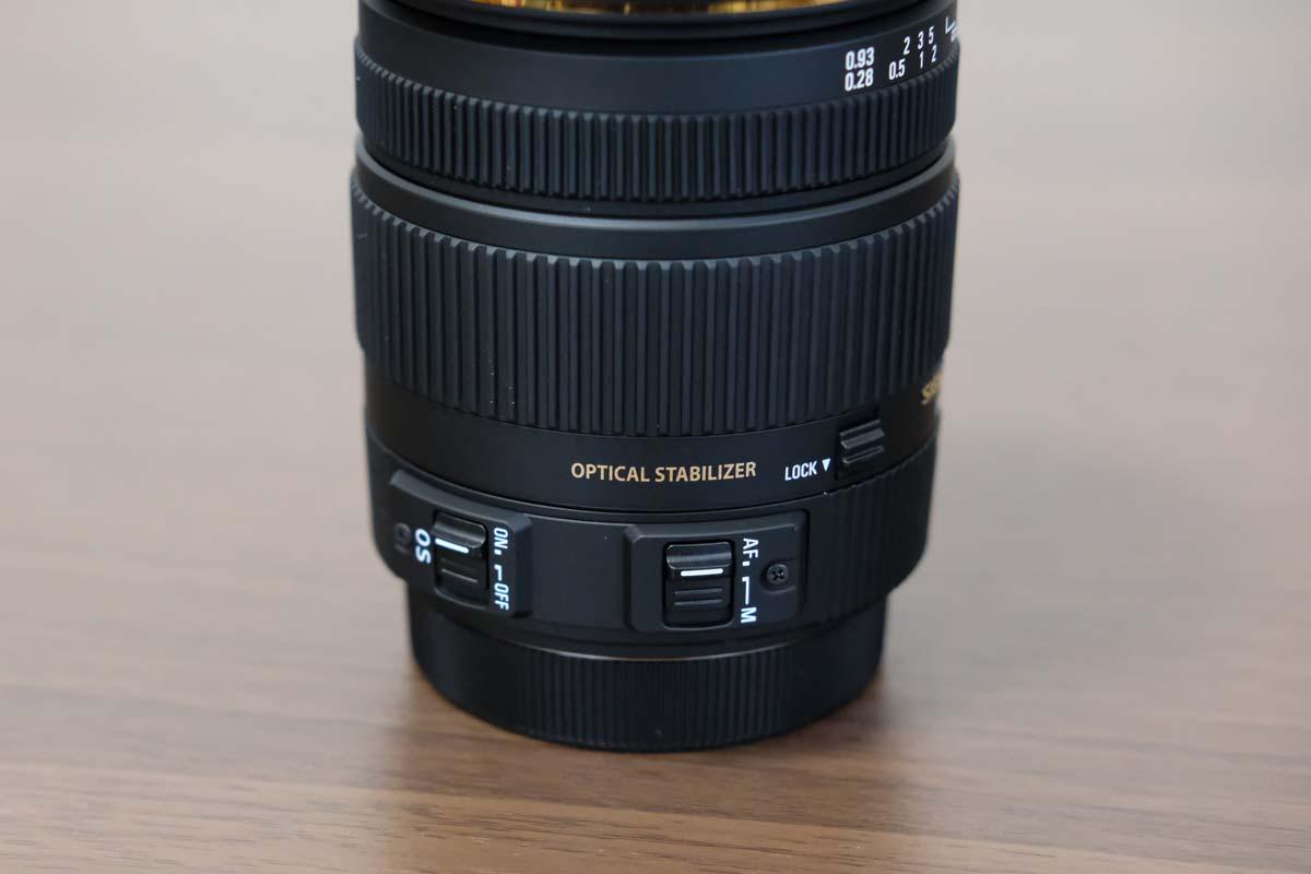 SIGMA 17-50mm F2.8 EX DC OS HSM 操作