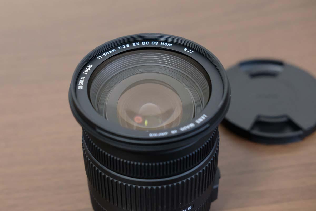SIGMA 17-50mm F2.8 EX DC OS HSM レンズ部分