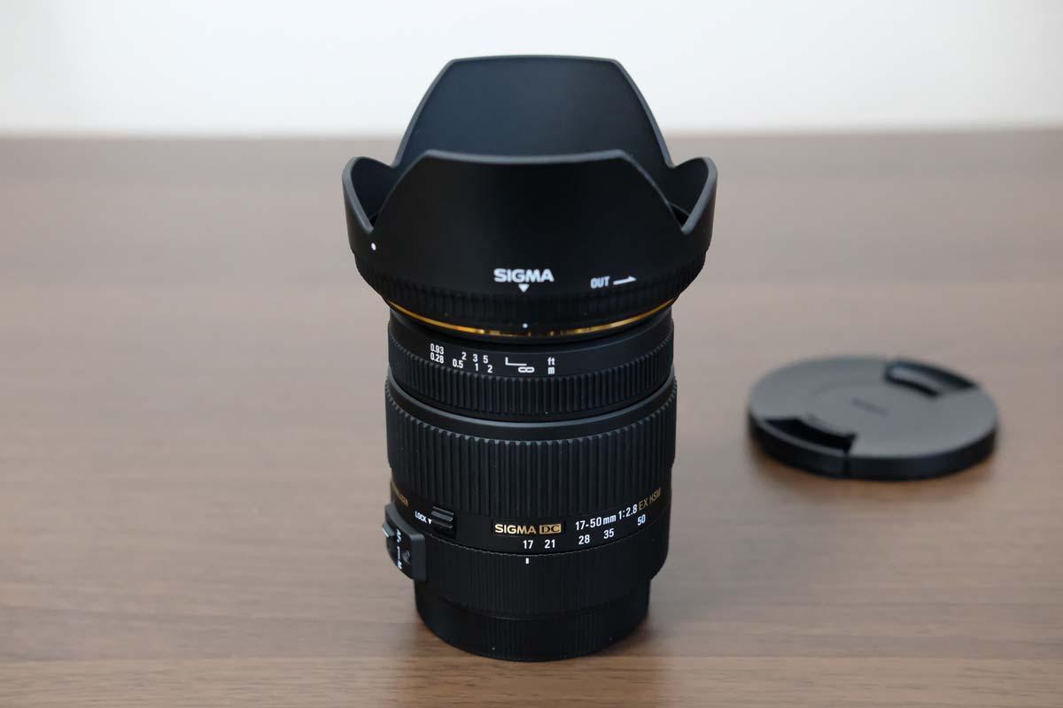 SIGMA 17-50mm F2.8 EX DC OS HSM レンズフーど
