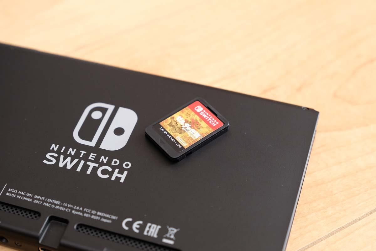 ニンテンドースイッチ ゲームカード3