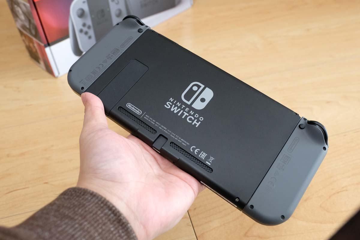 ニンテンドースイッチ 携帯モード2