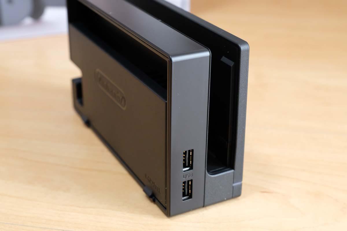 ニンテンドースイッチドック USBポート