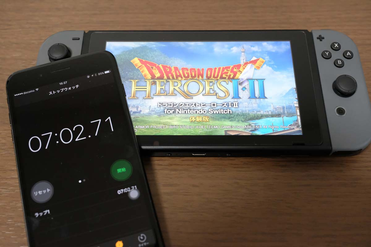 microSDにゲームデータをダウンロード時間