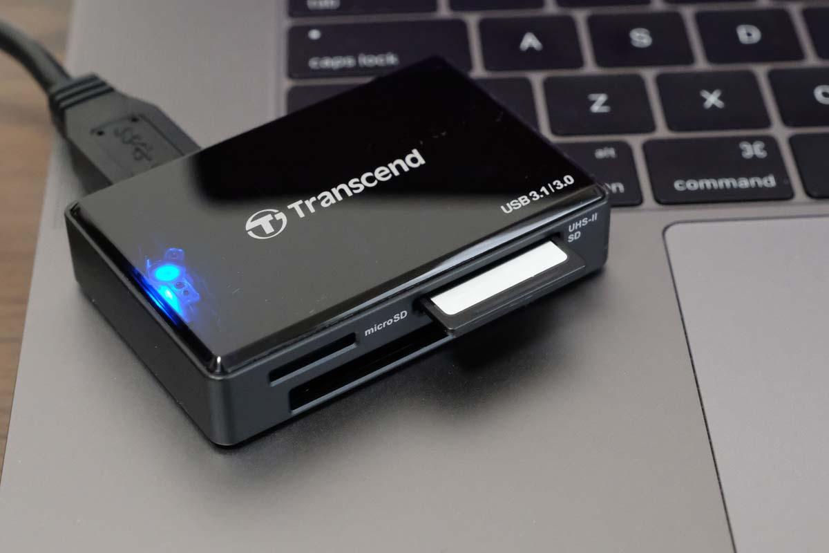 Transcend RDF9K カードリーダー SDカード