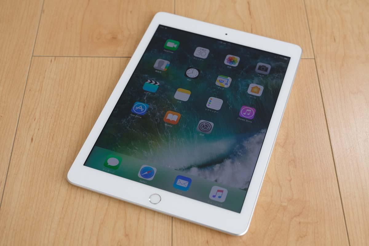 iPad(第5世代)正面