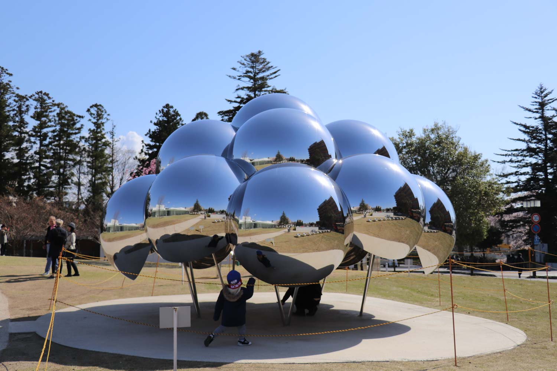 21世紀美術館の謎の球体