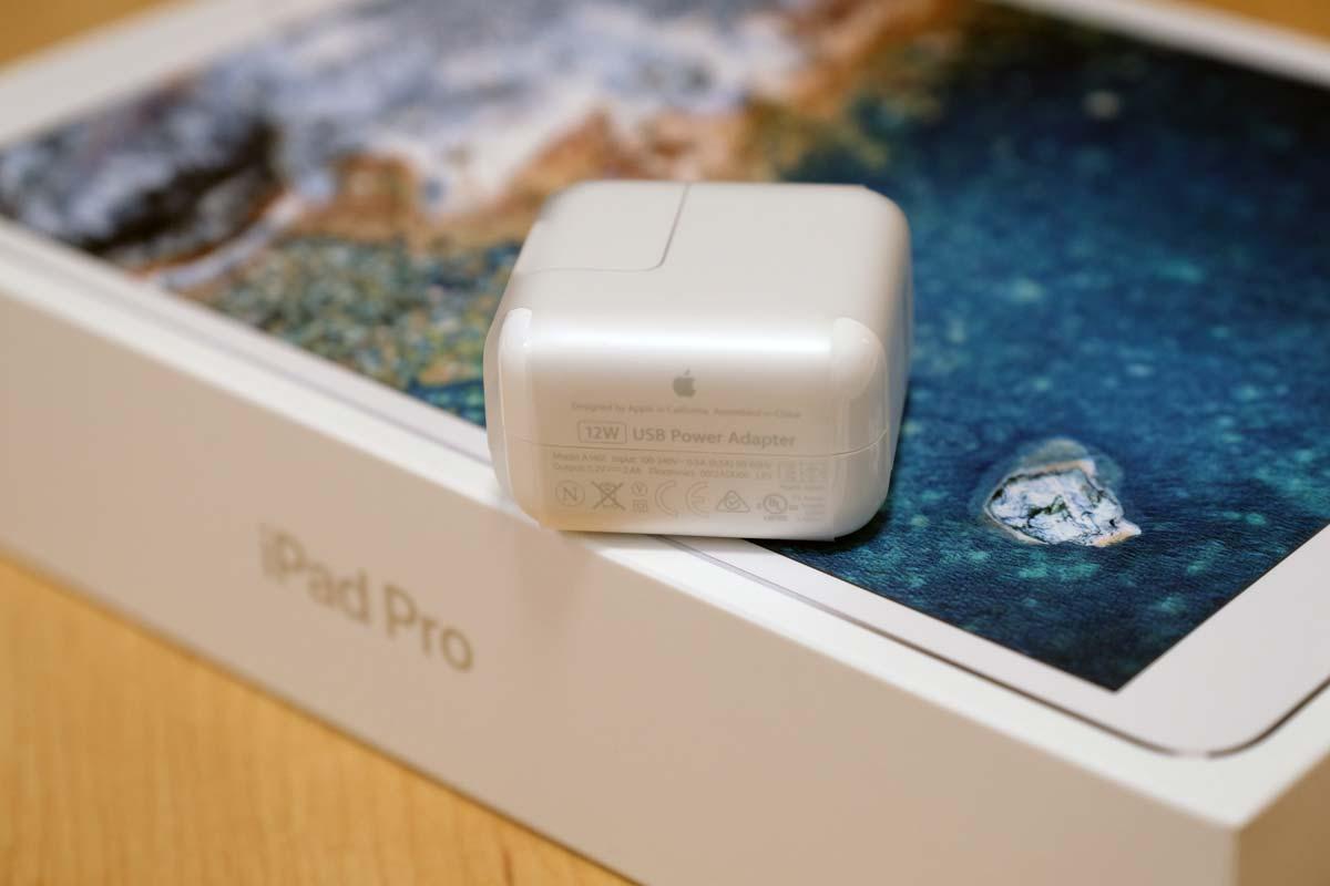 iPad Pro 10.5 充電アダプタ 12W