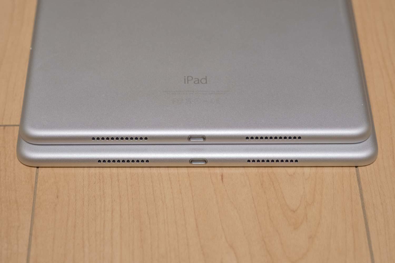iPad Pro 10.5とiPad Pro 9.7 スピーカー比較2