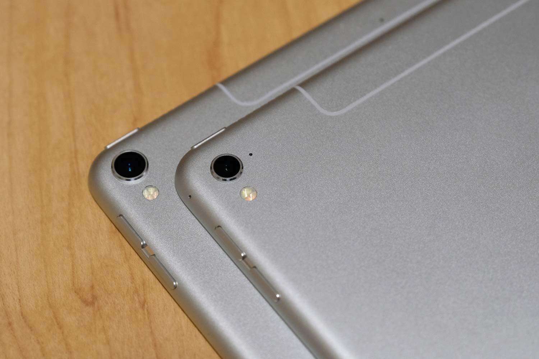 iPad Pro 10.5とiPad Pro 9.7 カメラレンズ比較