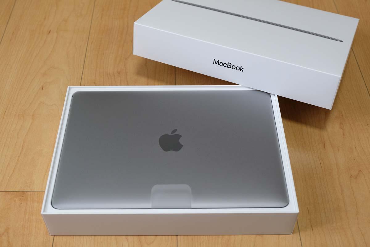 MacBookのパッケージデザイン