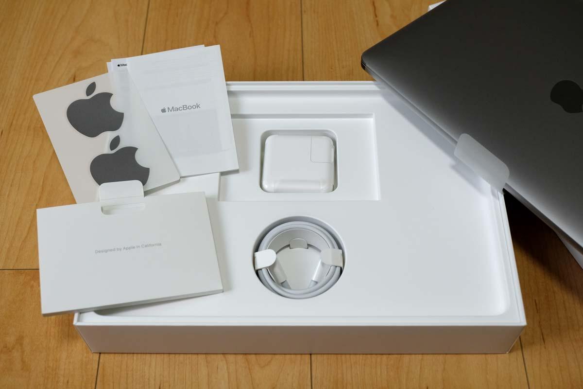MacBookの付属品