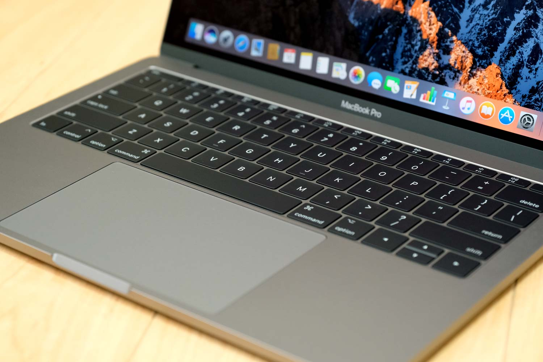 MacBook Pro 13インチ(2017)トラックパッド