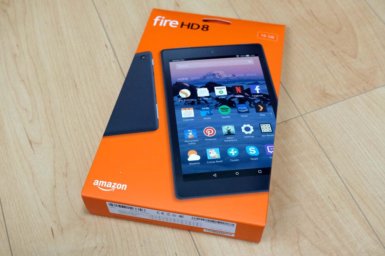 Fire HD 8 開封1