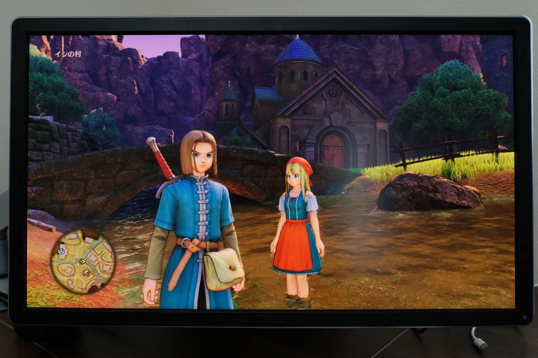 PS4 ドラクエ11画質