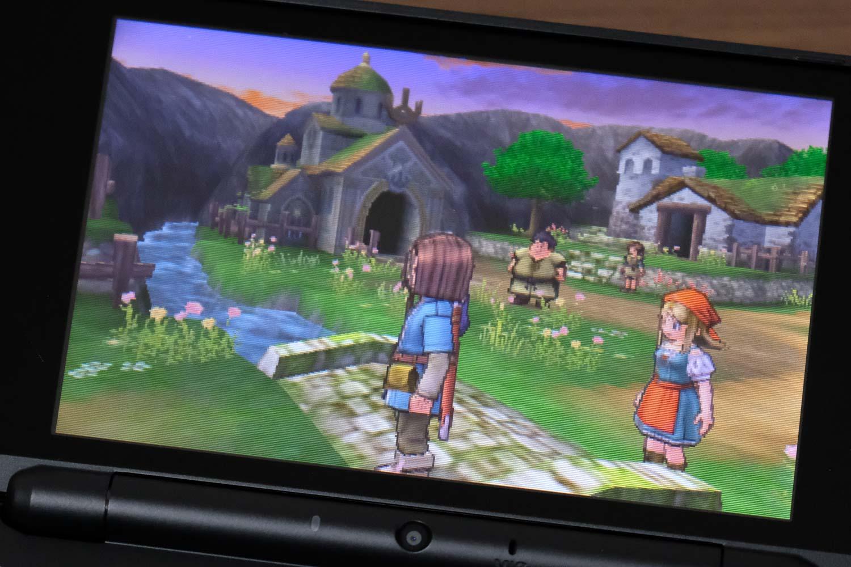 3DS ドラクエ11画質