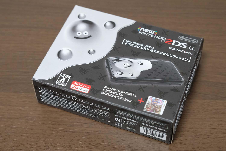 Newニンテンドー2DS LL ドラゴンクエスト11 はぐれメタルエディション 箱