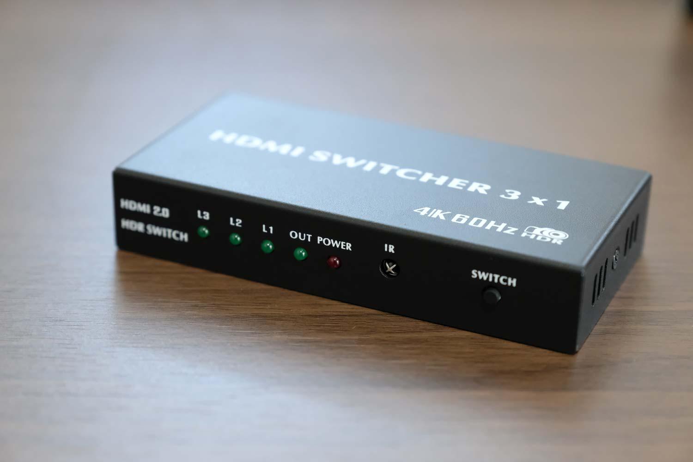4K60Hz対応のHDMIセレクター