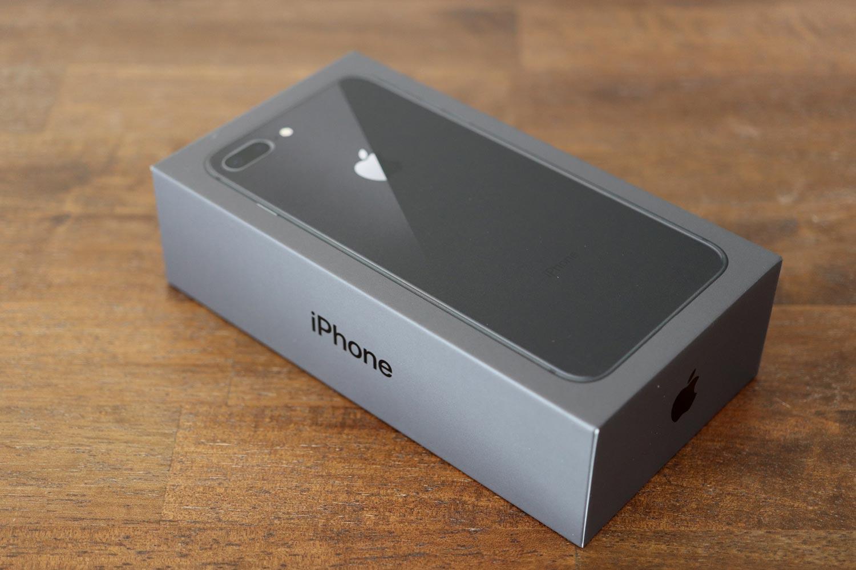 iPhone 8 Plusのパッケージ