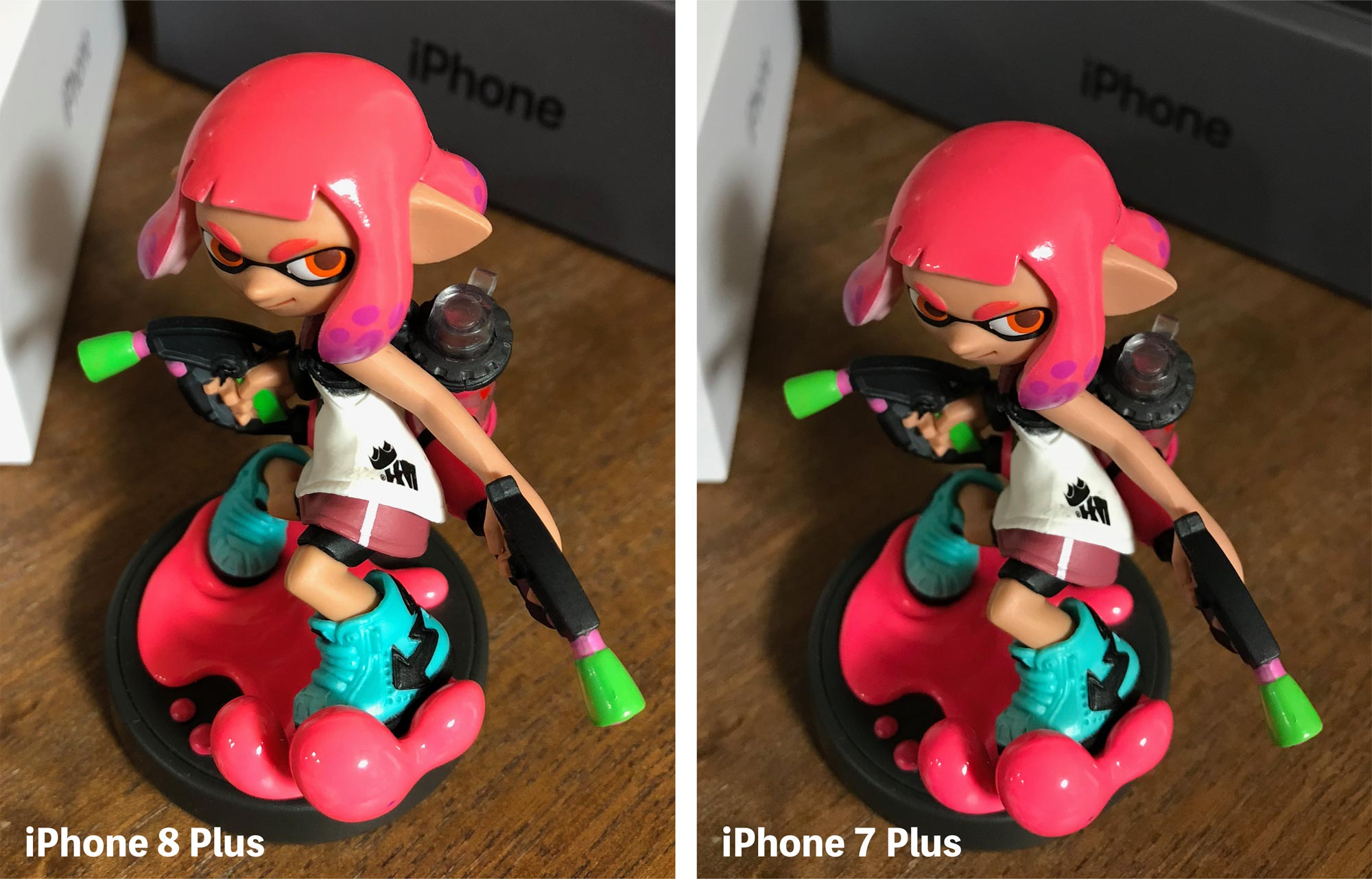 iPhone 8 Plus vs iPhone 7 Plus カメラ画質 1