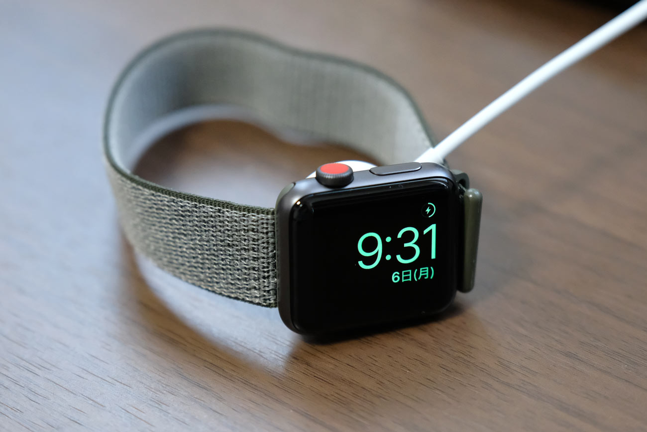 Apple Watch 3 スタンドモード