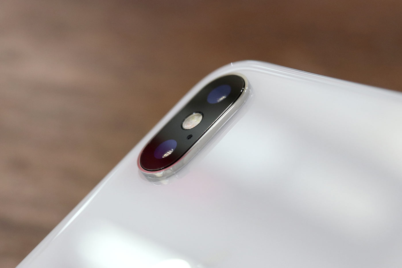 iPhone X 背面カメラ
