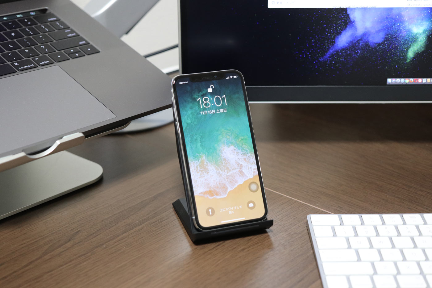 iPhoneX スタンド