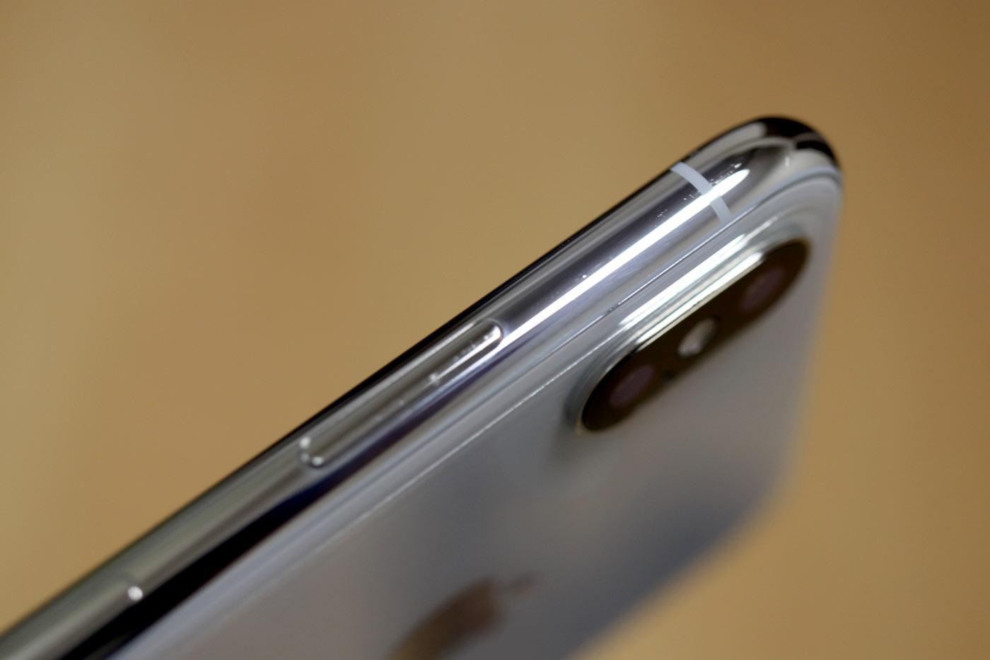 iPhoneX ステンレスフレーム