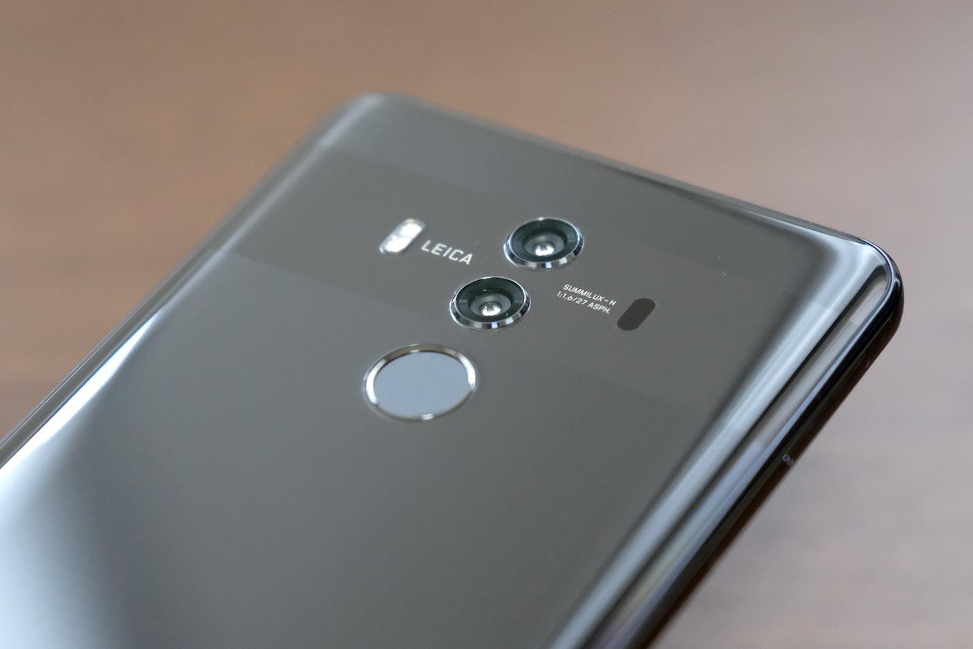 LEICAダブルレンズカメラ Mate 10 Pro