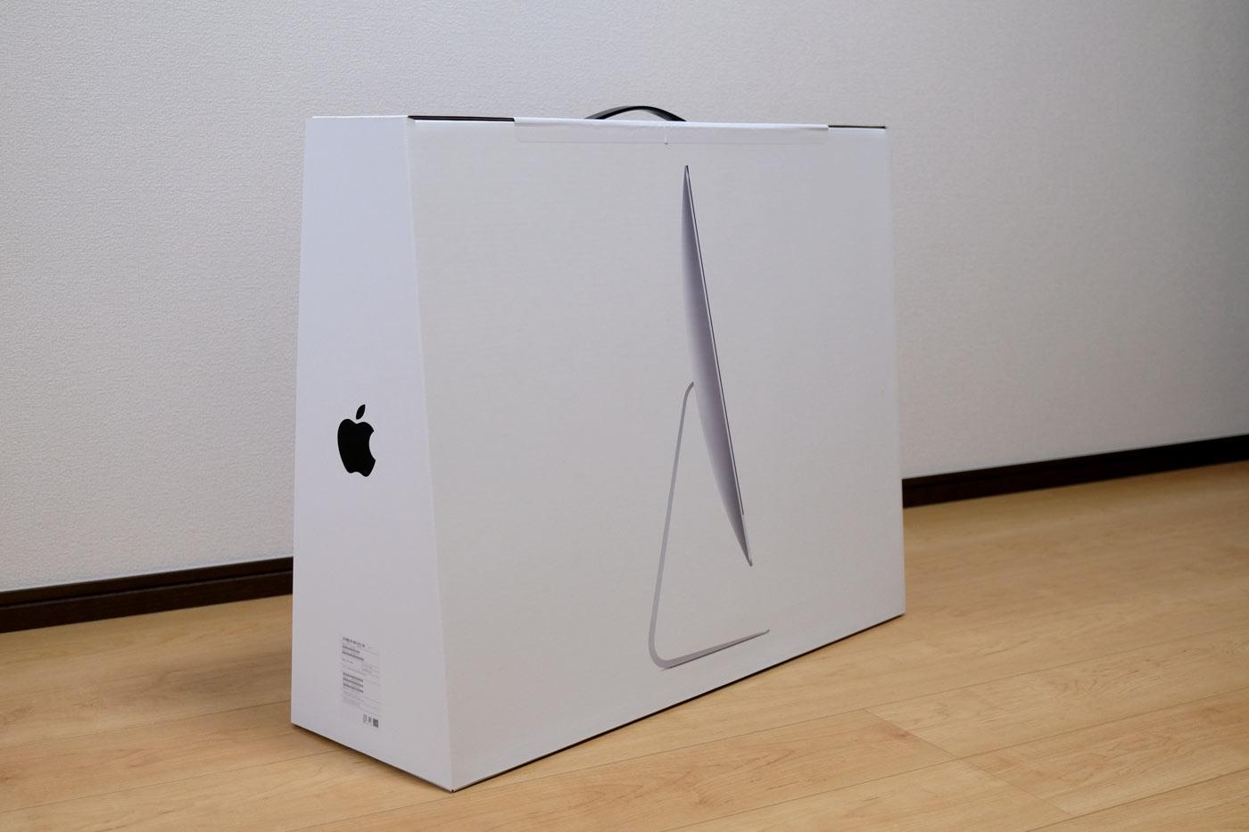 27インチiMac 5K パッケージ裏面