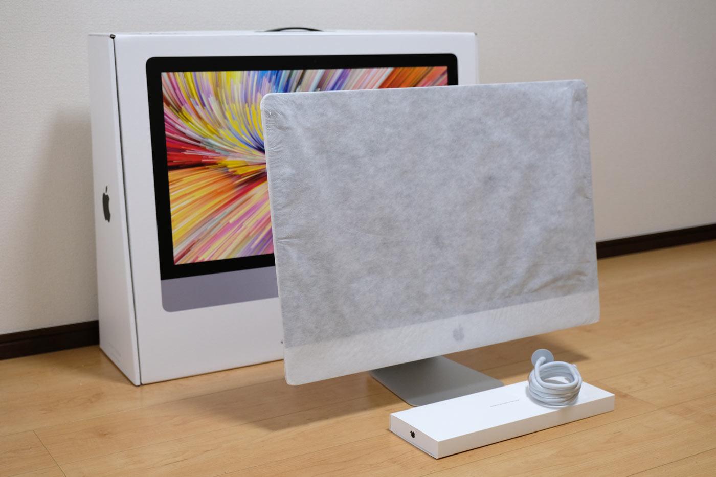 27インチiMac 5K 開封4