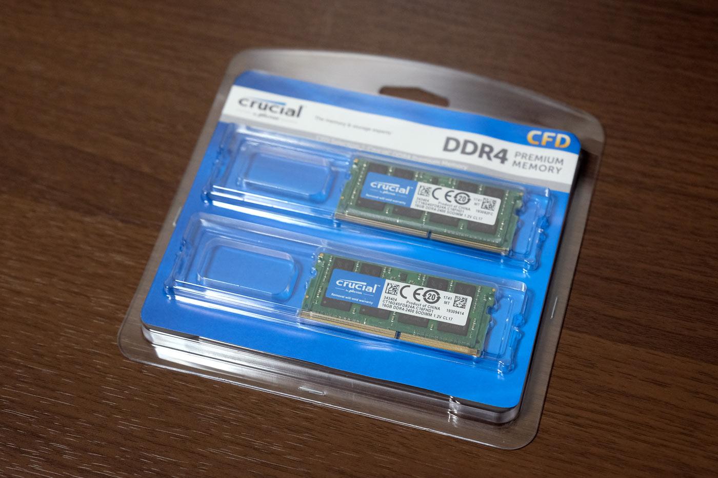 Crucial by Micron W4N2400CM-16G