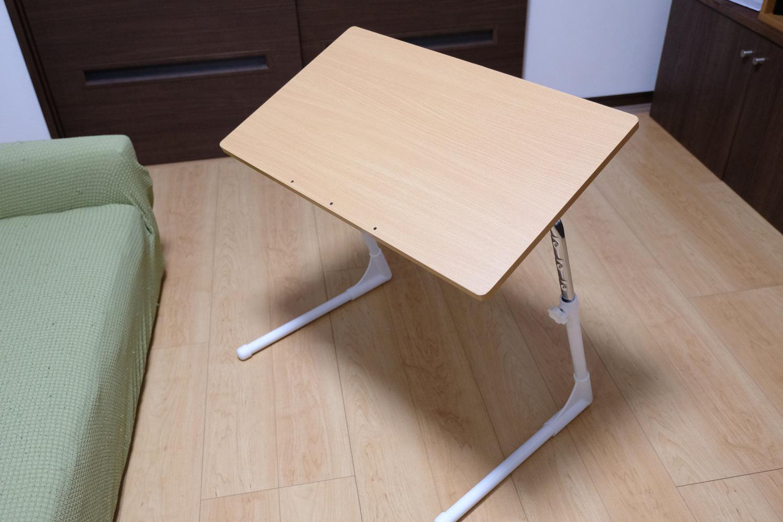 サイドテーブルの組み立て4