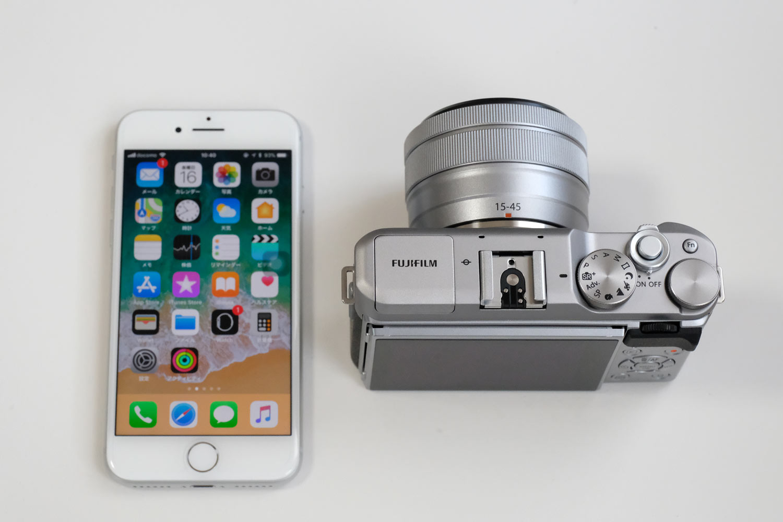 iPhone 8とX-A5