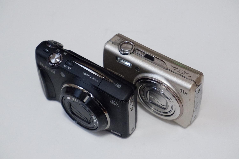 富士フイルムF200EXRとF900EXR
